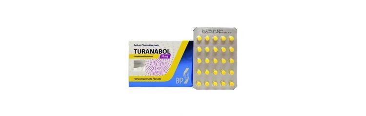 Balkan Turanabol 10 мг 25 таб (блистер)