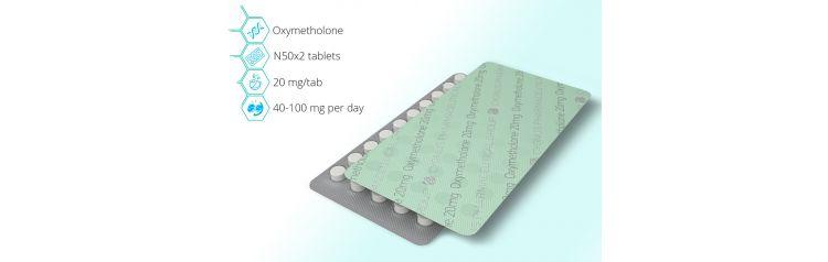 Cygnus Oxymetholone Анаполон 20 mg 100 таб