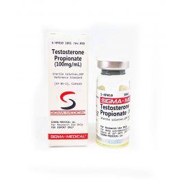 Sigma Testosterone Propionate 100 мг/мл 10 мл