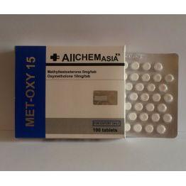 AllChem Asia MET-OXY 15 mg 50 tab