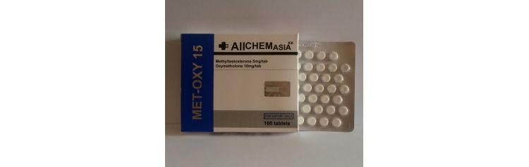 All Chem Asia MET-OXY 15 mg 50 tab (блистер)