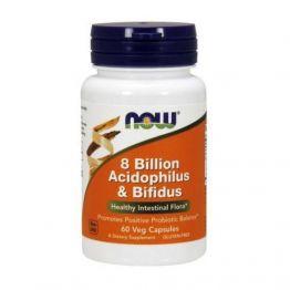 NOW 8 Billion Acidophilus & Bifidus 120 caps