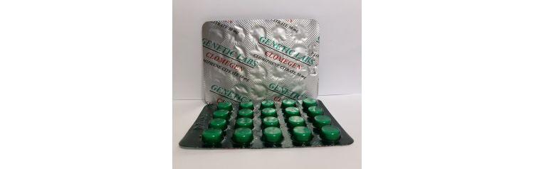 Genetic Labs Clomegen 50 mg 20 tab (блистер)