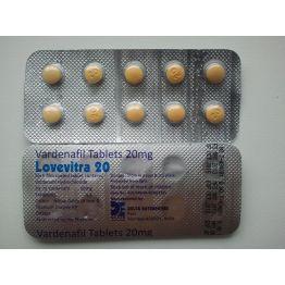 DELTA Vardenafil (Левитра) 10 таб по 20 мг
