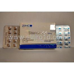 Zhengzhou Stanozolol 20 мг 50 таб