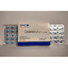 Zhengzhou Oxandrolon 20 мг 50 таб