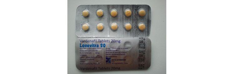 DELTA Vardenafil (Левитра) 1 таб по 20 мг