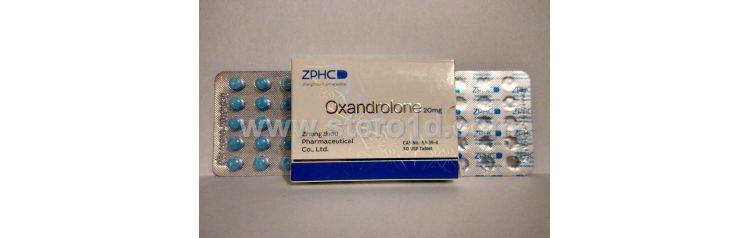 Zhengzhou Oxandrolon 20 мг 25 таб