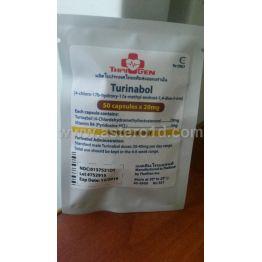 Thai-Gen Turinabol 20 мг 50 капс